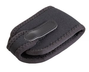 The Wireless Pouch™ conforms snugly to the transmitter to protect it from impact, dust and moisture