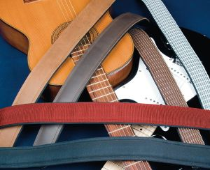 The Slimline Strap series allows banjo, bass and guitar players to play in comfort